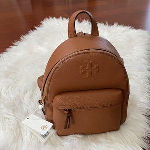 Tory Burch Thea Mini Backpack Pebble Leath…